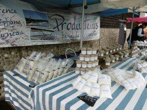 Spécialité locale, le sel de Noirmoutier