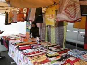 stand de nappes à Noirmoutier